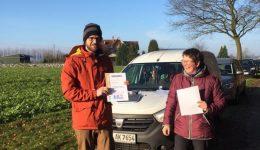 Christian besteht mit Hailey die 2. Orange Prüfung beim K-9 Suchhundezentrum